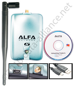 Longest range & Wireless-N technology Alfa AWUS036NH