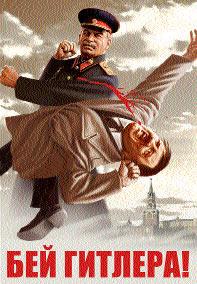 Stalin Hitler Russian propaganda 21