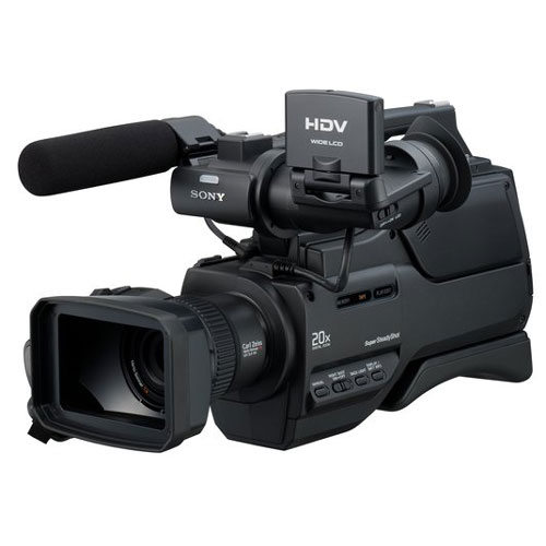 Sony HVR-HD1000U High Definition 10x Zoom HDV Digital Camcorder  