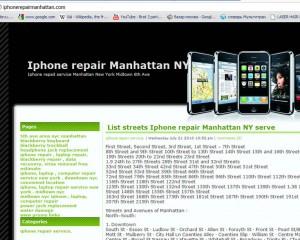 iphone repai rmanhattan.com october 2010 web