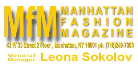 Logo Manhattan Fashion Magazine Leona Sokolov
