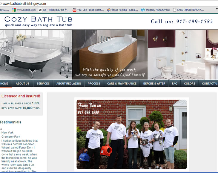 bathtub refinishing ny website
