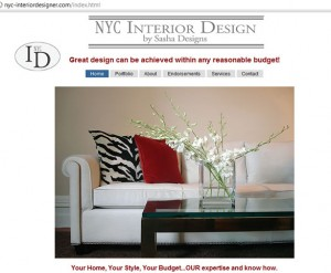 nyc interior designer com NYC Manhattan Best designer budgets respected