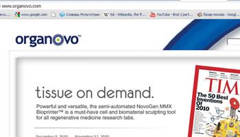 organovo.com organovo NovoGen MMX Bioprinter