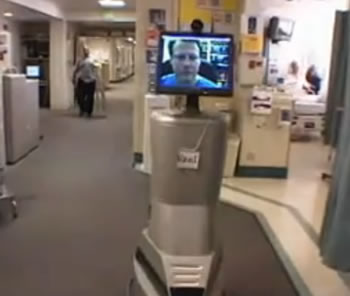 robot monitor medical usa