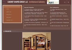 cabinetshapes.net and cabinetshapes.com custom furniture
