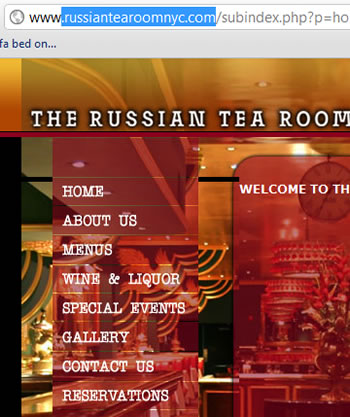 Russian Tea Room New York NY