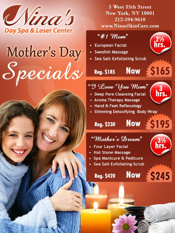 Mothers Day Specials New York NY 2011