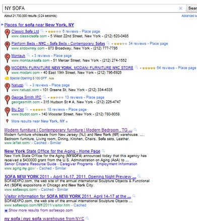 ny sofa google 2011