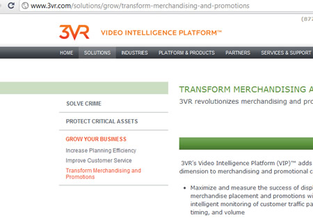 3vr.com website video intelligence platform