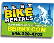 Bike rent Manhattan NY Central Park