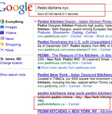 Pedini kitchens NYC google May 2011