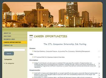 ztlco.com ztl company web page