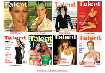 Talent magazine New York