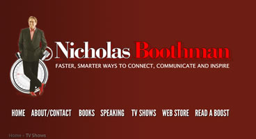 nicholasboothman.com website communication 90 seconds