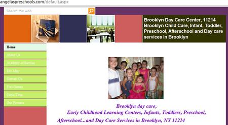 angelaspreschools.com daycare kinder garten