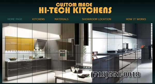 Custom Kitchens NY Company Brooklyn HI-TECH