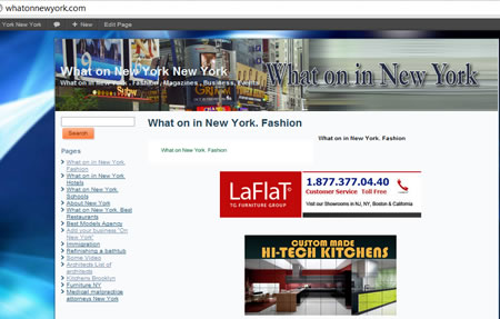 What In New York Laflat Furniture and Kitchens