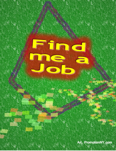Find Me A Job Red Art New York