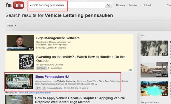 Vehicle Lettering pennsauken NJ Youtube