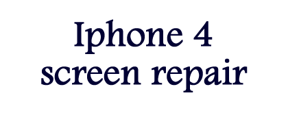 Iphone 4 Screen repair NYC