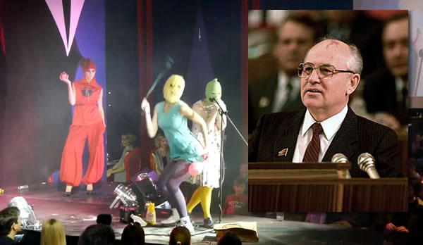 Pussy Riot and Gorbachev