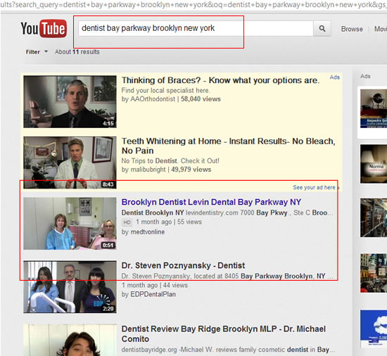 Dentist Brooklyn Levin Promotion Youtube Oct 17 2012