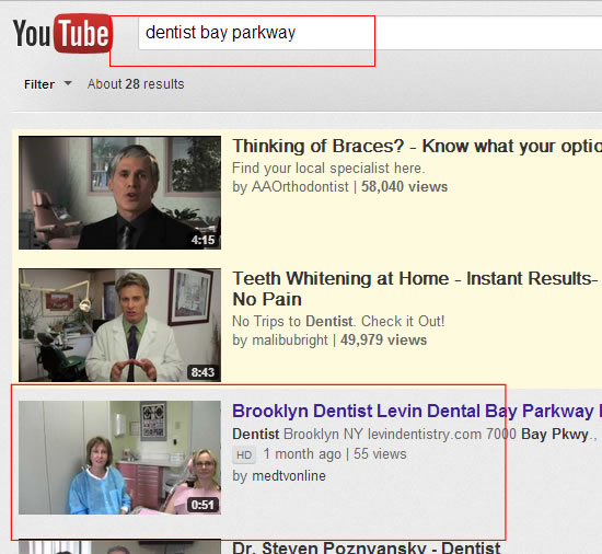 Dentist Bay Parkway Levin Promotion Youtube Oct 17 2012