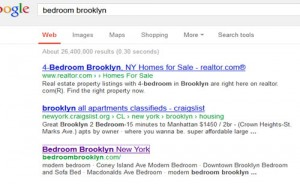 Bedroom Brooklyn Google Promotion
