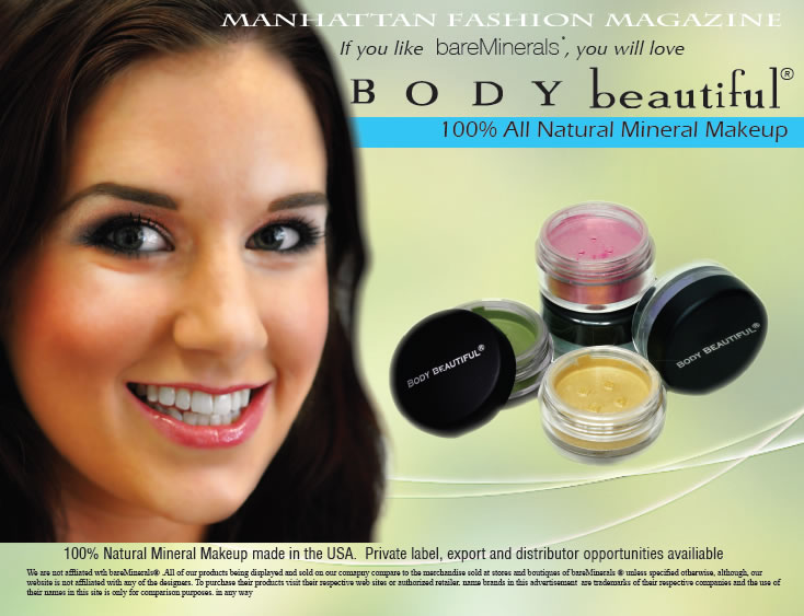 Body Beautiful Make Up New York Made in USA