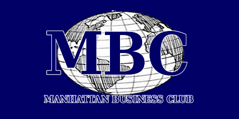 Manhattan Business Club Logo Blue