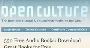 Open Culture Free MP3 Promotion