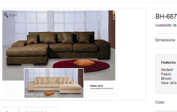 BH Sectional Sofa