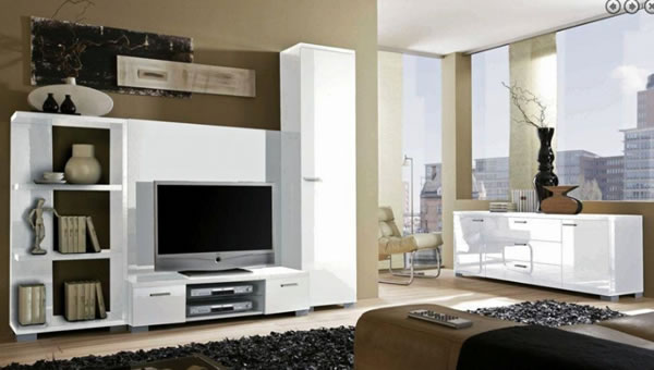 Modern Furniture Wall Unit NYC Promotion