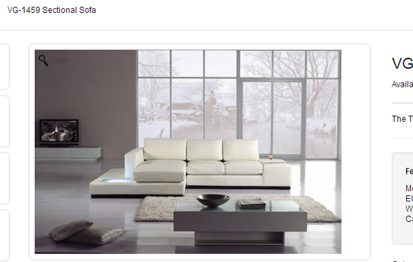 VG Sectional Sofa