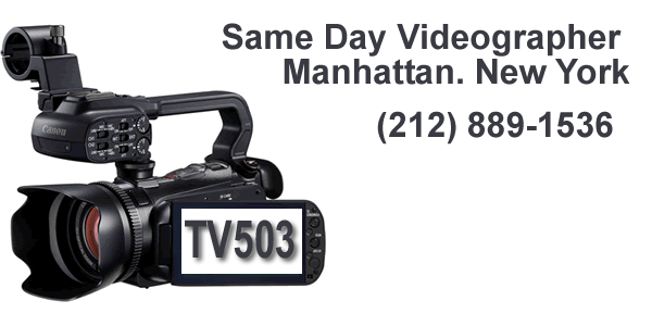 Same Day Video Manhattan NY