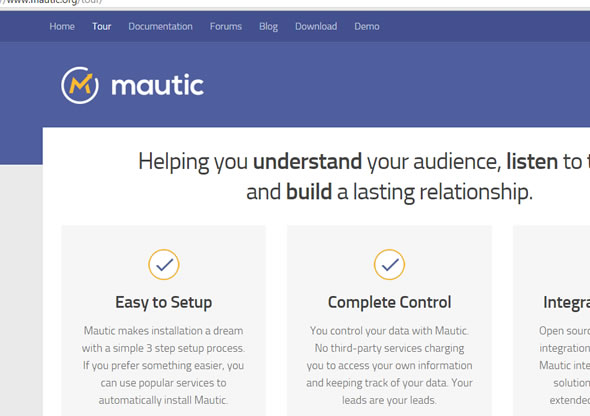 mautic.org free internet promotion tool  new york news 2-4-2016